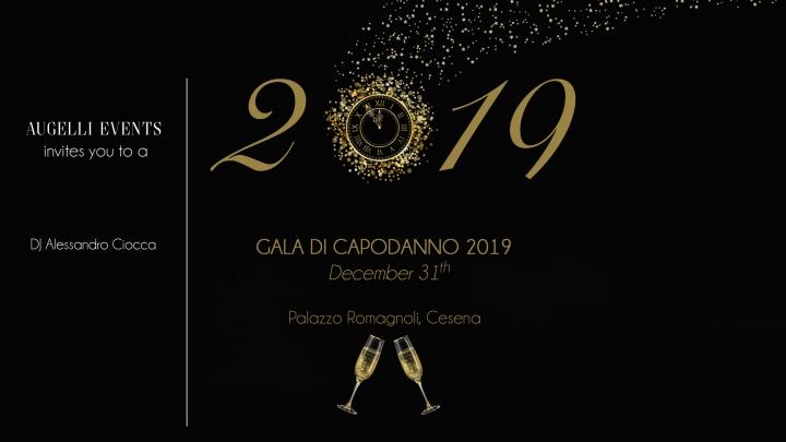 Capodanno Cena di Gala Palazzo Romagnoli Cesena Foto