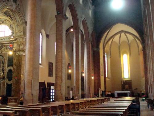 La cattedrale di San Battista di Cesena